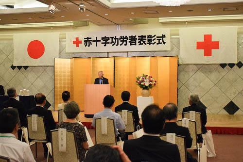 日本赤十字社 銀色有功章 受章